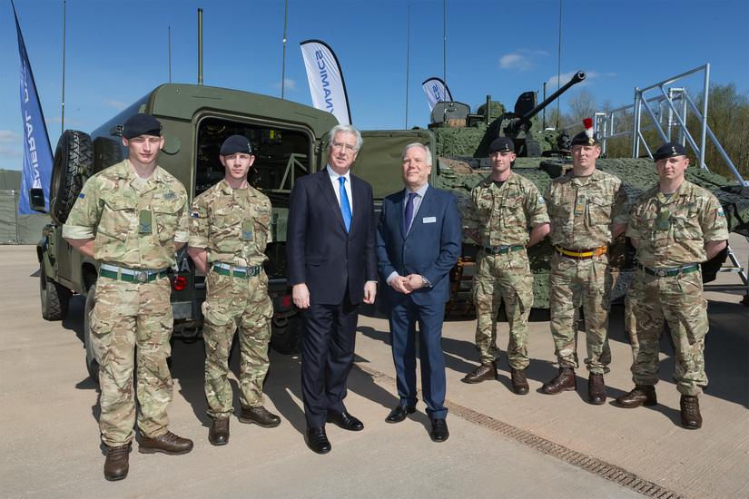 Defence Secretary visits General Dynamics UK